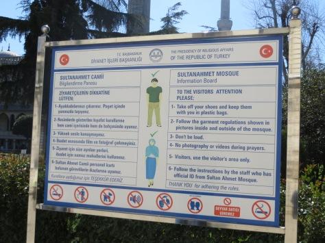 Dress code y... otras restricciones.