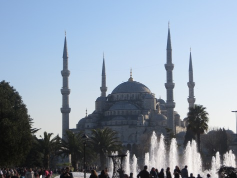 Mezquita azul... impresionante y majestuosa!