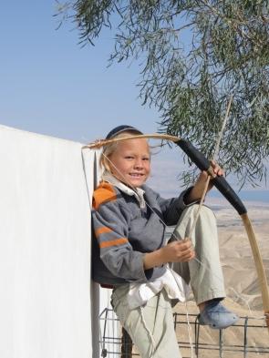 Mishpé Yerihó - Legolas vigilando desde su fuerte ;)