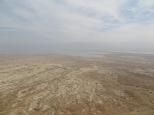 Masada - Vistas desde la cima, al fondo el Mar Muerto!