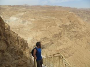 Masada - Juny admirando el imperio