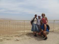 Masada - Única foto del día todos juntos!!