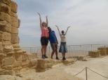 Masada - Las columnas en ruinas :D