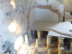 Masada - Por aqui iba el agua calentita para el Spa del rey Herodes!