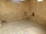 Masada - Algunos de los preciosos Mosaicos del Palacio de Herodes