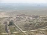 Tel Arad - Vistas de las ruinas de esta ciudad de hace 6000 años!