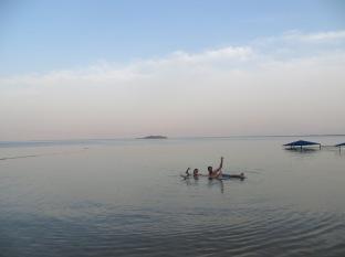 Mar Muerto - Saludando a la cámara