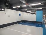 Parking hospital: Esta podría ser una habitación en caso de emergencia