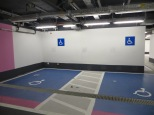 Parking hospital: Zona de aseos y duchas