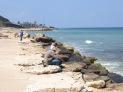 La costa del norte de Haifa