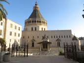 Nazaret - llegamos justo 5 minutos antes de que cerraran la basílica!