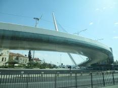 Puente de Calatrava en Jerusalén