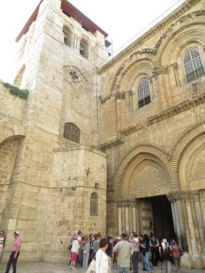 Basílica del Santo Sepulcro - Exterior