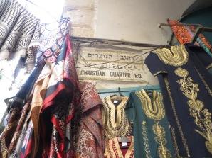 Christian quarter en la ciudad vieja