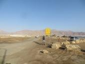En Eilat, en la frontera con Jordania