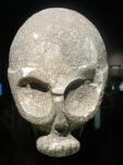 Mascara de hace 10.000 años, expuesta en el museo de Israel en Jerusalén