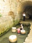 """Piscina natural a la salida del túnel """"acuático"""""""