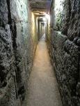 Tunel subterráneo que conecta las faldas de Jerusalén con su casco antiguo.