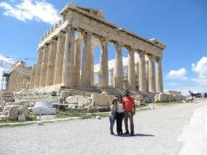 María, Mónica y Juny se despiden desde el Partenón!