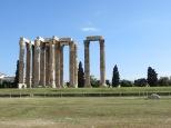 Nos despedimos también del Templo de Zeus!