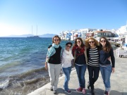 The spanish-greek team conquer Mikonos ;)