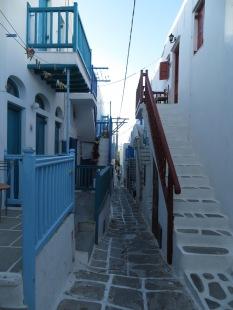 Una calle típica de la ciudad