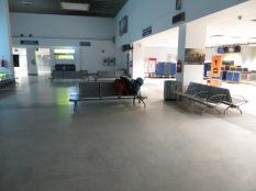 Poco antes de las 5:30 de la mañana... llegamos los primeros y abrimos el aeropuerto