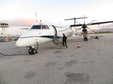 Nos despedimos de Mikonos y de Grecia en nuestro jet privado XD
