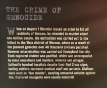 "Brutal fact: "".... on August 1 Himmler issued an order to kill all RESIDENTS in Warsaw..."""