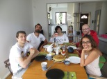 Last brunch in Warsaw at Pawel and Joanna place. An amazing tortilla de patatas made by Mónica, is waiting for us... ñam!