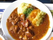 Goulash with potatoes... excellent!