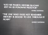 """""""Aquel que no conozca la historia está sentenciado a repetirla"""" - George Santayana"""