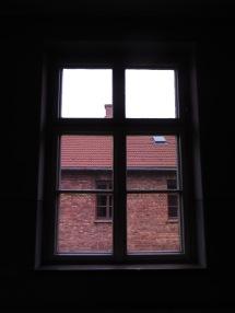 Vistas desde el pasillo de uno de los edificios. No hay salida.
