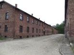 El campus original de Auschwitz estaba formado por edificios de dos plantas, ordenados en cuadrícula al más puro estilo militar y separados por anchas calles. En varios de estos edificios había exposiciones temáticas que nos irían adentrando en su historia.