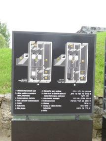 Planos de la cámara de gas y del crematorio en Auschwitz I.
