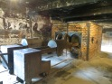 Posteriormente los cuerpos se llevaban a la sala contigua donde estaban los hornos crematorios