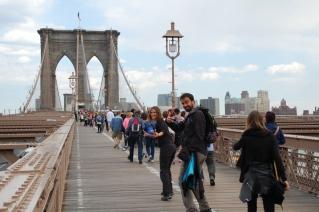 Llegamos al puente de Brooklyn!