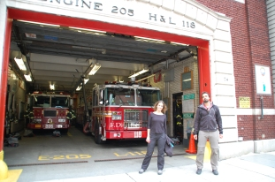 Pero que guapos que están estos camiones de bomberos!