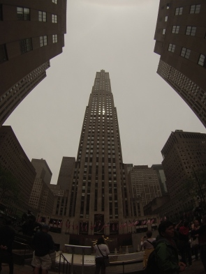 Llegamos al Rockefeller Center, para arriba que nos vamos!