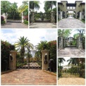 Entradas a las mansiones de algunos famosos como Phillip Frost, Julio Iglesias, Paulina Rubio, en Star Island