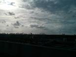 Y os dejo con nuestra última foto de este post: Miami en la distancia...