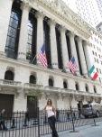 Aquí es donde se mueve la pasta... estamos en Wall Street!