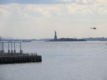 Así se ve la Estatua de la Libertad desde Brooklyn