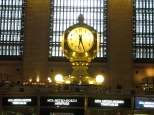 El famoso reloj de Grand Central Station