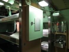Camarotes en el submarino