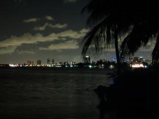 """Contemplando Miami minutos antes de apretar el botón """"panic"""""""