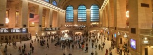 Panorámica de Grand Central Station, escenario de un montón de películas.