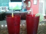 Batido de maracuya y limonada para disfrutar del partido