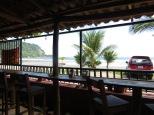 Vistas desde el bar donde vimos España - Chile