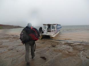 Lluvia, barro, equipaje, emoción por todo lo alto!